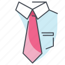 business, businessman, department, job, professional, tie, work icon