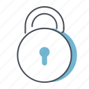 job, lock, office, padlock, safety, security, work icon
