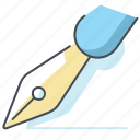business, deal, job, office chancery, pen, sigmature, work icon