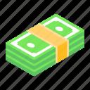 dollar, currency, cash, money, asset, banknote stack, banknotes