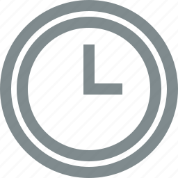 clock, hour, time, timer, wait, watch icon