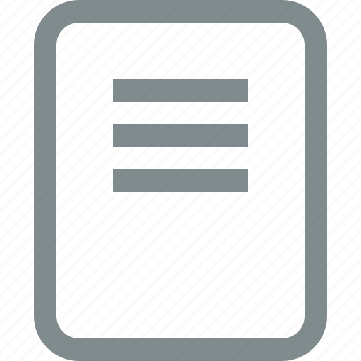 book, document, exercise, file, paper, read icon