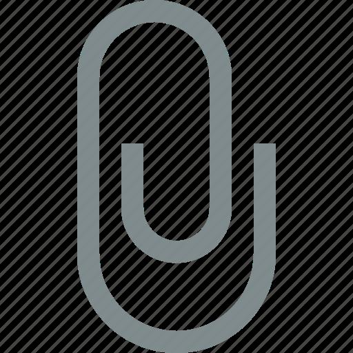 add, attach, document, file, paper, paperclip icon