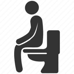 crap, defecate, poop, sanitary, shit, toilet, turd icon