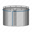 gas, oil, storage, tank icon