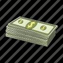 cash, finance, money, petrodollars icon