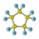 chemical, formula, hydrocarbon, oil icon