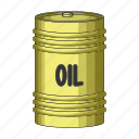 barrel, capacity, container, oil icon