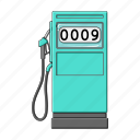 equipment, gas station, gasoline, service icon