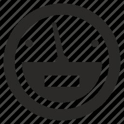 fuel, level, oil, petrol, round icon