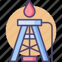 drilling, drilling rig, oil drilling, oil rig, rig icon