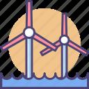 energy, power, wind, wind energy, wind farm, wind power, windmill icon