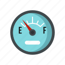 automobile, car, empty, fuel, level, sensor, vehicle icon