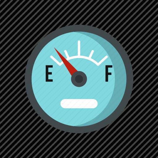 automobile, car, empty, fuel, level, sensor, vehicle icon