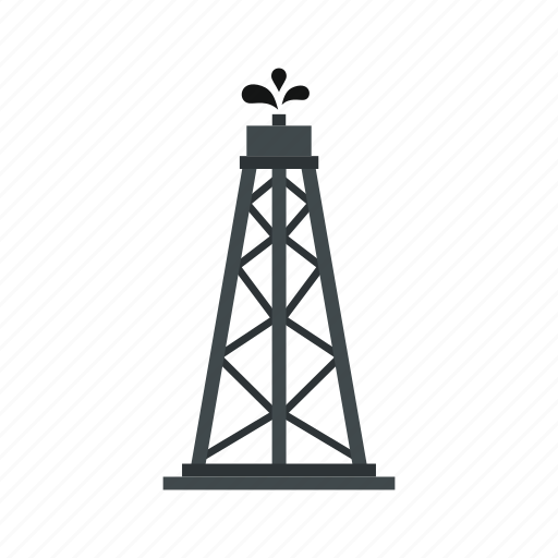 energy, gas, industry, oil, petroleum, rig, tower icon