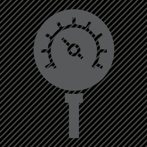control, gage, manometer, meter, oil, pressure icon