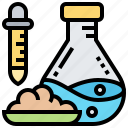 analysis, chemical, experiment, laboratory, research icon