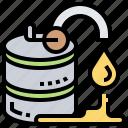 barrel, fuel, gasoline, local, pump icon