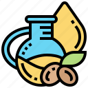 extraction, mineral, natural, oil, vitamin icon