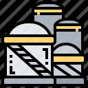 energy, oil, production, storage, tank icon