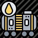 car, engine, fuel, oil, tank icon