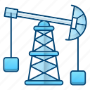 extraction, oil, oil industry, petrol, pump icon