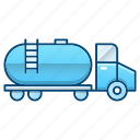 oil industry, transport, transportation, truck, vehicle icon