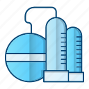 factory, oil, oil industry, refinery icon