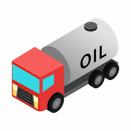 barrel, car, drum, isometric, machine, metal, oil icon