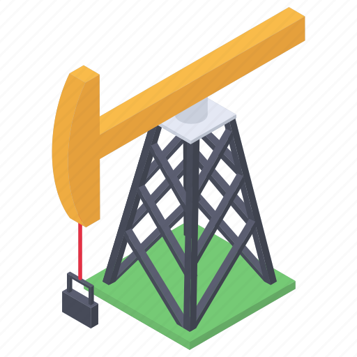 oil derrick, oil fracking, oil gusher, oil rig, oil tower, oil well, oil wellhead icon