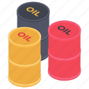 barrel oil, barrels, crude oil, oil container, oil cylinder, oil drums, oil hogshead icon