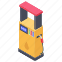 fuel dispenser, fuel station, gas station, petrol pump, petrol station icon