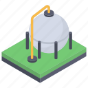 oil container, oil pool, oil reserve, oil storage, oil store, oil supply, oil tank icon