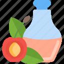 apple, bootle, fruit, oils