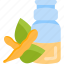 beans, bottle, drink, oils icon