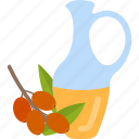 berry, bottle, food, oils icon