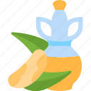 drink, forest, nuts, oils icon