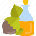 food, forest, nuts, oils icon