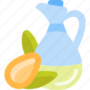 bottle, food, oils, seed icon