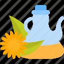 bottle, food, oils, seed icon