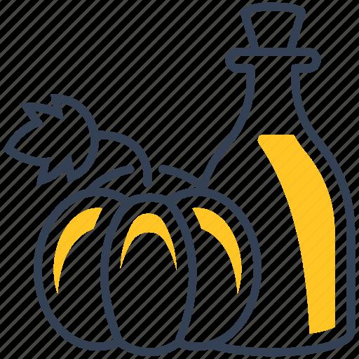 food, oil, pumpkin icon