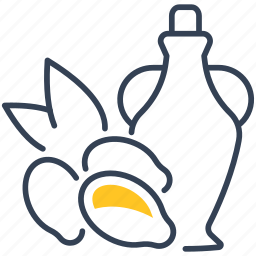 buckthorn, oil, sea icon