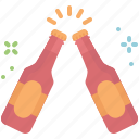 beer, celebration, cheers, party icon