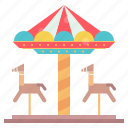 carnival, carousel, festival, funfair icon