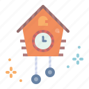 alarm, clock, cuckoo, time icon