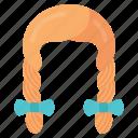 braid, hair, oktoberfest, traditional icon