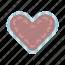 cake, heart, oktoberfest, waffle icon