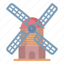 electricity, energy, power, windmill icon