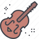 cello, instrument, music, violin icon