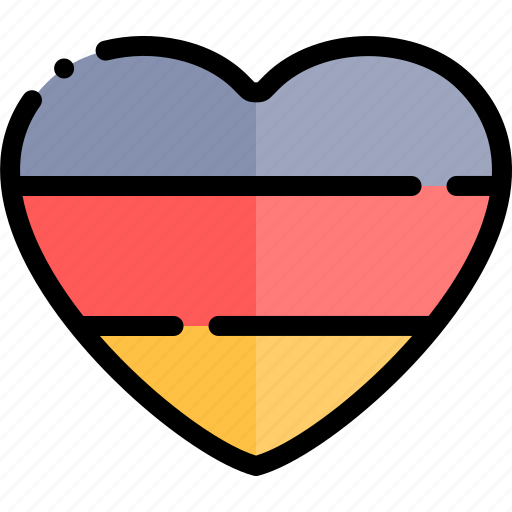 carnaval, german, heart, october, oktoberfest icon